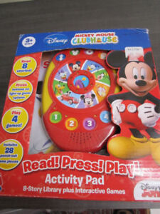 Disney's Mickey Mouse Clubhouse Read,Press,Play, NEW in box $12.
