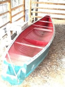 18' Freigter Canoe with trailer Strathcona County Edmonton Area image 3