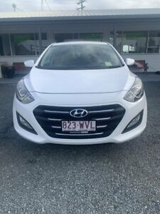 2016 Hyundai i30 GD4 Series II MY17 Active Polar White 6 Speed Sports Automatic Hatchback Mackay Mackay City Preview
