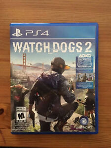 Battlefield 1 and Watch Dogs 2 for PS4