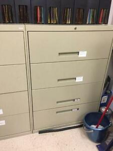 Filing cabinets 4 drawer lateral