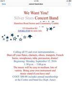 SILVER STARS CONCERT BAND