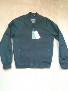 Zara bomber jacket (Navy, medium) -Brand New-