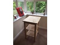 Ikea Bekvam Kitchen trolley bare solid wood in good condition