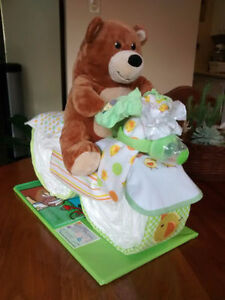Diaper Cake Creations customized for YOU.....Baby Shower Gifts