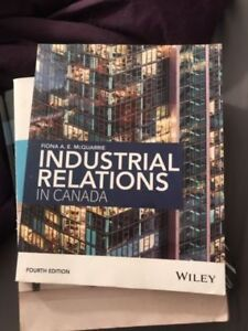 Industrial Relations in Canada 4th Edition