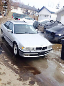 Parting out several BMWs