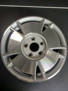 Honda civic (2006_2011) factory alloy wheels with locking nuts