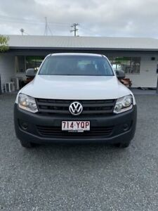 2013 Volkswagen Amarok 2H MY13 TDI420 4Motion Perm Candy White 8 Speed Automatic Utility Mackay Mackay City Preview