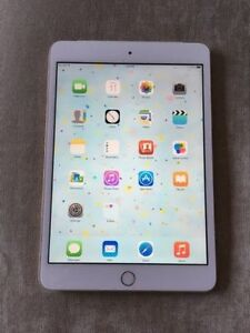 Mint condition Gold Apple iPad mini 3 16GB WiFi/Cellular + acc.