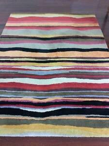 Colourful wool rug (160x224cm) Lilyfield Leichhardt Area Preview