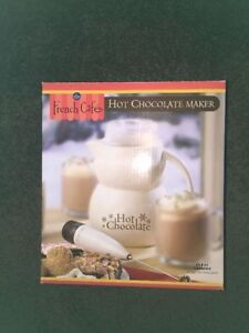 BRAND NEW - SEALED - French Cafe - Hot Chocolate Maker