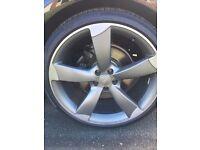 Audi alloy wheels 21 inch