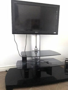 "Sony 32"" LCD TV and Sanus Stand"