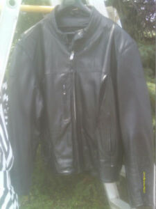Men's real nice quality leather jacket