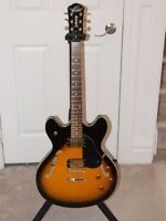 Trade Oscar Schmidt by Washburn Delta King OE30 with Case