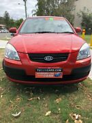 2006 Kia Rio JB Red 4 Speed Automatic Hatchback Tugun Gold Coast South Preview