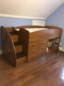 Kids Loft Bed and Dresser