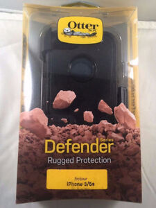 NEW OtterBox Defender Series Case for iPhone 5/5S/5SE Black