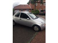 For spares or repair, 05 silver KA - Colour coded bumpers