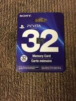 Ps vita 32gb memory card brand new only for ps vita