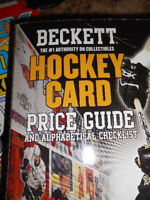 Beckett hockey card price guide
