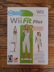 WII FIT PLUS SOFTWARE ONLY