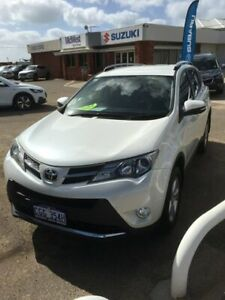 2014 Toyota RAV4 ZSA42R MY14 GXL 2WD White 7 Speed Constant Variable Wagon Beresford Geraldton City Preview