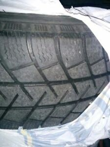 "4x used 16"" winter rims with used Michelin 225x70x16 tires"