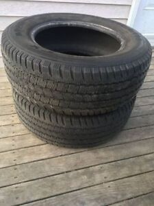 Two P245/65R17 Tires