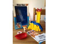 WANTED Diver Dan Bath Toy