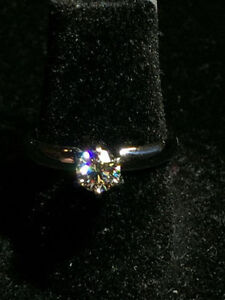 0.50CT SOLITAIRE DIAMOND ENGAGEMENT RING VS1 !! ON SALE