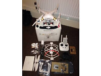 dji phantom 3 professional 2 batterys mint con with loads of extras
