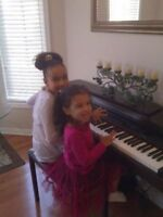 FALL/WINTER PIANO LESSONS $11.50/30 MINUTES