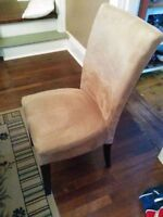 Microsuede Dining Room Chair