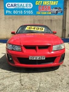 2004 Holden Ute VY II Red 4 Speed Automatic Utility Kogarah Rockdale Area Preview