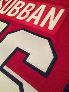 P.K. Subban Montreal Canadiens Jersey Size M L and XL Markham / York Region Toronto (GTA) image 3