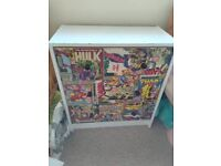 Marvel chest of draws and wardrobe