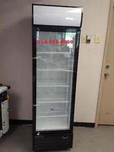 NEUF REFRIGERATEUR 1 PORTE VITREE COMMERCIAL / GLASS DOOR FRIDGE