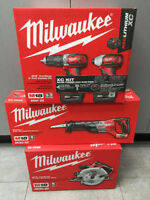 Liquidation ensemble drill impact Milwaukee M18 Garantie 5 ans