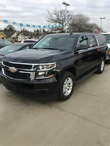 2016 Chevrolet Suburban LT (Black on Black) Text 604.506.1196