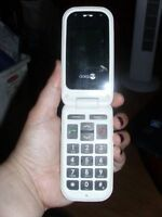 doro large display button cell phone