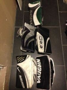Vaughn, CCM, Nike/Bauer Pro Adult / Mens Hockey Goalie Blockers