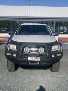 2012 Ford Ranger PX XLT Double Cab Cool White 6 Speed Manual Utility Mackay Mackay City Preview