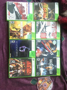 Xbox 360 games *mint condition*
