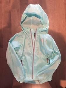 New no tags Girls Northface nylon shell windbreaker jacket size