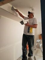 Mudding Taping Texture ceiling Basement Garage ect call today