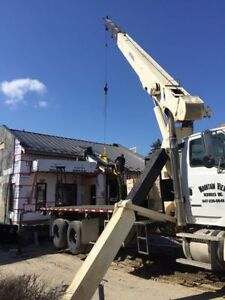 Crane Rental Services in the GTA