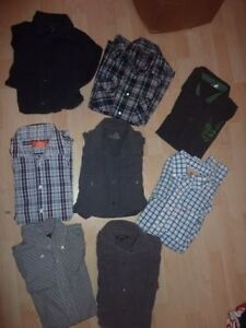 Men's coats, blazers, shirts (long/short), ties, bath short, S/M Kitchener / Waterloo Kitchener Area image 4