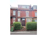 large three bed mid-terrace to rent in Harehills.